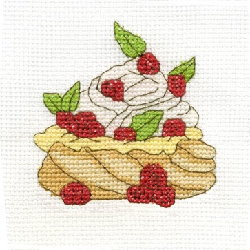 DMC Cross Stitch Kit - Sweet Temptations - Meringue