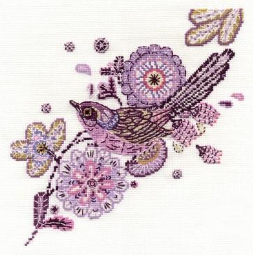Fan Tailed Friend - Bird - BK1448