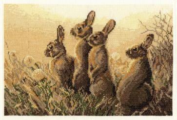 DMC Cross Stitch Kit - Wildlife - Dawn Alert