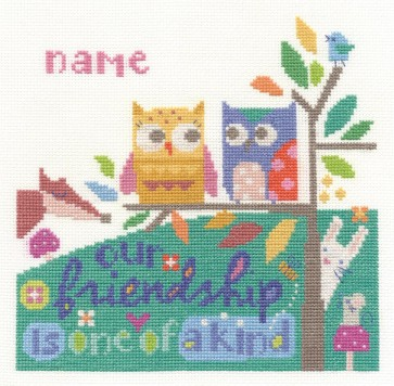 DMC Cross Stitch Kit - Modern - Friendship