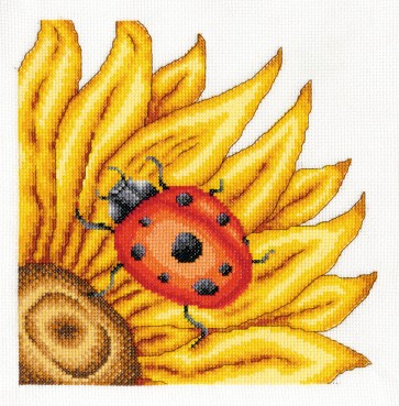 DMC Cross Stitch Kit - Butterflies And Insects - The Ladybird