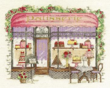 DMC Cross Stitch Kit - Vintage Chic - Patisserie