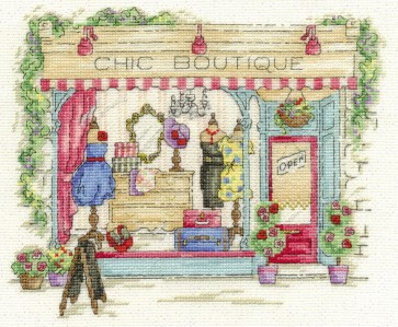 DMC Cross Stitch Kit - Vintage Chic - Chic Boutique