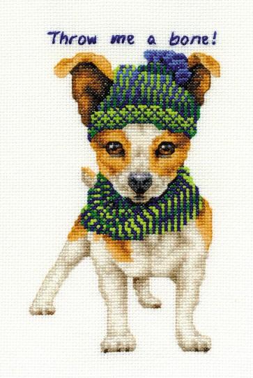 DMC Cross Stitch Kit - Dogs - Jack Russell