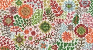 DMC Cross Stitch Kit - Flowered Forms - Blossoming Buds