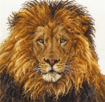 DMC Cross Stitch Kit - Safari Animals - Lions Pride