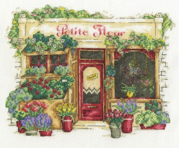 DMC Cross Stitch Kit - Vintage - Le Fleuriste