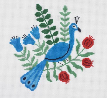DMC Counted Cross Stitch Kit - Holly Maguire - Peacock