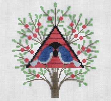 DMC Counted Cross Stitch Kit - Holly Maguire - Bird House