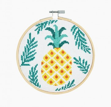 DMC Counted Cross Stitch Kit - Extra Value - Pineapple