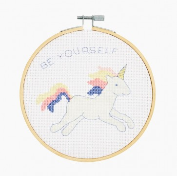 DMC Counted Cross Stitch Kit - Extra Value - Unicorn