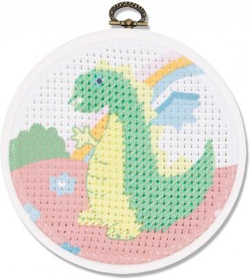 DMC Printed Embroidery Kit - The Dragon