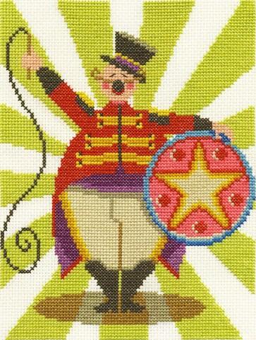 DMC Counted Cross Stitch Kit - Ringmaster Reginald