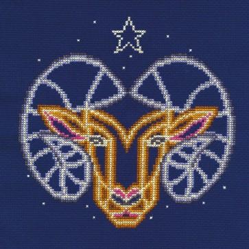 DMC Counted Cross Stitch Kit - Aries