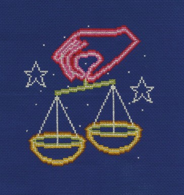 DMC Counted Cross Stitch Kit - Libra