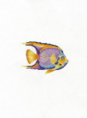 DMC Counted Cross Stitch Kit - Tropical Fish
