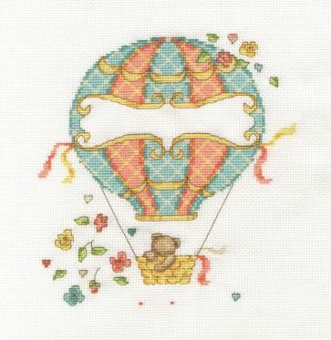 DMC Counted Cross Stitch Kit - Balloon Baby
