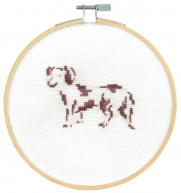 DMC Counted Cross Stitch Kit - Happy Dachshund