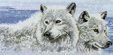 DMC Cross Stitch Kit - Pollyanna Pickering - Company of Wolves