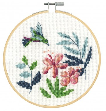 DMC Counted Cross Stitch Kit - Hummingbird
