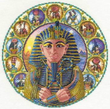 DMC Cross Stitch Kit - Kings And Queens - Tutankhamun