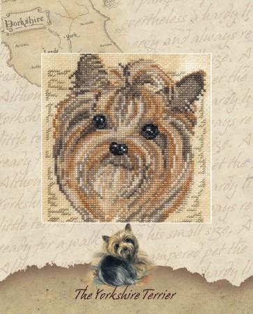 DMC Cross Stitch Kit - Pollyanna Pickering - The Yorkshire Terrier