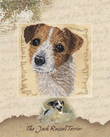 DMC Cross Stitch Kit - Pollyanna Pickering - The Jack Russel Terrier