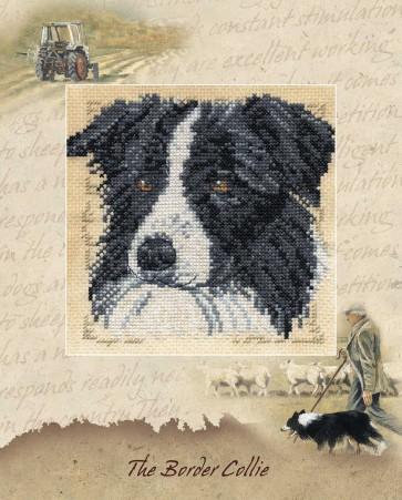 DMC Cross Stitch Kit - Pollyanna Pickering - The Border Collie