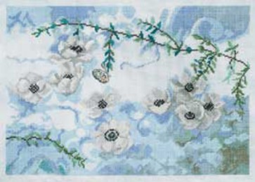 DMC Cross Stitch Kit - Florals - Time after time
