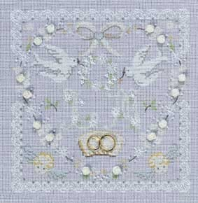 Wedding Heart - Wedding Samplers - BK629