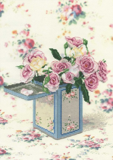 DMC Cross Stitch Kit - Florals - Bunch of Roses