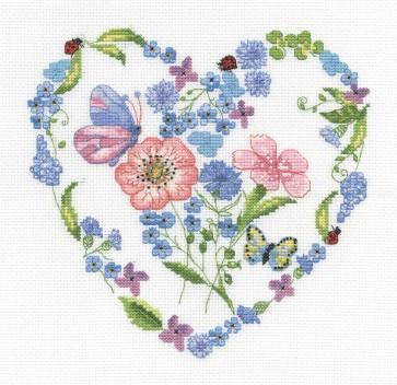 Floral Heart - Florals - BK724