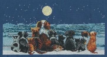 DMC Cross Stitch Kit - Cats - Cats & Dogs Chorus