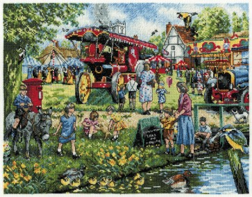 DMC Cross Stitch Kit - Kevin Walsh - Spring On The Green