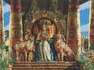 DMC Cross Stitch Kit - Kings And Queens - Egyptian Queen