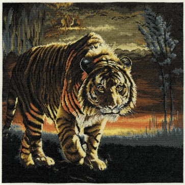 DMC Cross Stitch Kit - Pollyanna Pickering - In The Forests Of The Night