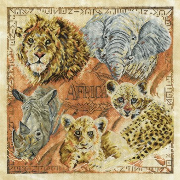 DMC Cross Stitch Kit - Pollyanna Pickering - The Big Five