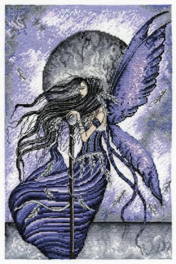 DMC Cross Stitch Kit - The Enchanted World of Faerywoods - Purity Pagan Fairy