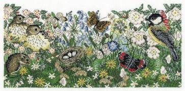 DMC Cross Stitch Kit - Countryside - Hedgerows