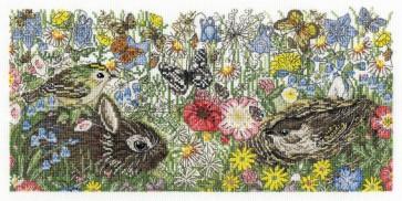 DMC Cross Stitch Kit - Countryside - Spring Countryside