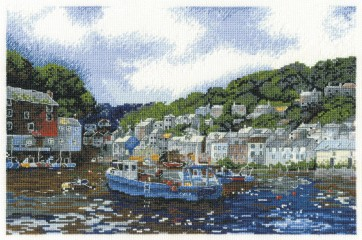 DMC Cross Stitch Kit - Felix Rosenstiel - Polperro