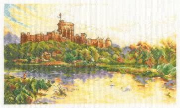 DMC Cross Stitch Kit - Felix Rosenstiel - Windsor Castle Evening