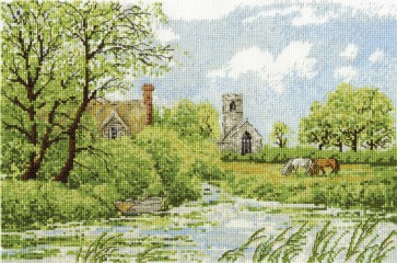 DMC Cross Stitch Kit - Landscapes - River Ant At Irstead