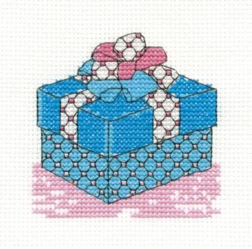 DMC Cross Stitch Kit - Mini Birthday Kit - Birthday Present