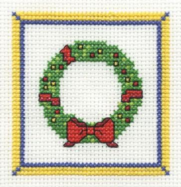 DMC Cross Stitch Kit - Christmas - Wreath