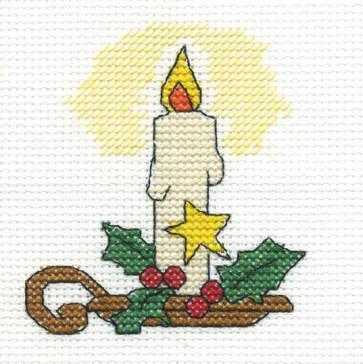 DMC Cross Stitch Kit - Christmas - Christmas Candle