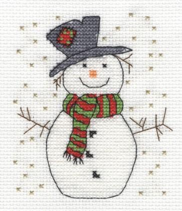 DMC Cross Stitch Kit - Christmas - Snowman
