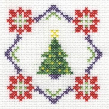DMC Cross Stitch Kit - Christmas - Christmas Tree