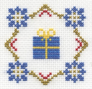 DMC Cross Stitch Kit - Christmas - Presents!