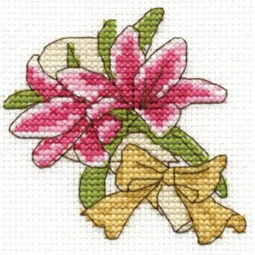 DMC Cross Stitch Kit - Flowers - Lilies